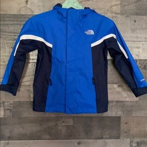 Kids North Face Hyvent shell